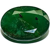 Esmeralda de Pakistán piedra preciosa natural & facettiert 3.86quilates