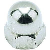 M6 Dado di cupola esagonale - A4 in acciaio inox dimensioni del pacchetto: 8