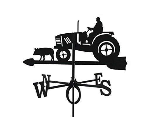 Wetterfahne Traktor groß 66 x 75 cm