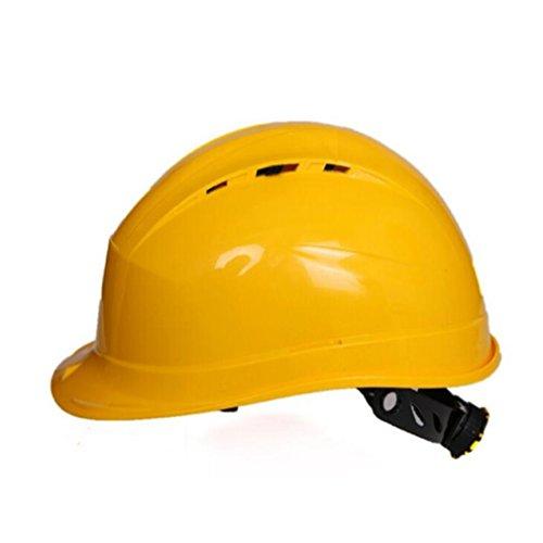 STEAM PANDA Schutzhelm-Sturzhelm-Breathable-Bauarbeiter-Sturzhelm-Flut-Verhinderungs-Anti-UV Zufällige Farbe