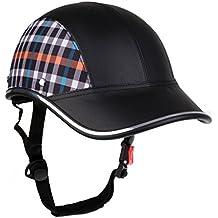 MagiDeal Gorra Casco Protector de Cabeza de Béisbol Motocicleta Moto  Anti-UV Visor de Sombrero 79d0094842c