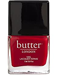 butter LONDON Nagellack, Rottöne, Come to Bed Red, 11 ml