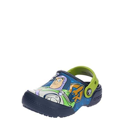 Crocs CrocsFL Buzz Woody Clog K, Zuecos Unisex niño, Azul (Navy 410b), 32/33 EU 8