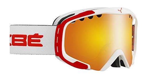 Cébé Skibrille Hurricane Flash Fire Weiß/Rot, M