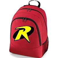 Robin Boy Wonder Batman Superhero Gym School Backpack Bag
