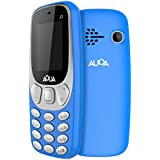[Sponsored Products]Aqua J3 - 1.8 Inch Display Dual SIM Basic Keypad Mobile Phone With 800 MAh Battery - Blue