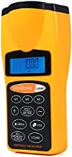 Divinext CP 3007 Ultrasonic Distance Measurer Laser Pointer, 15.5 * 7 * 4.7 cm, Orange