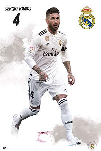Grupo Erik Editores póster Real Madrid 2018/2019Sergio