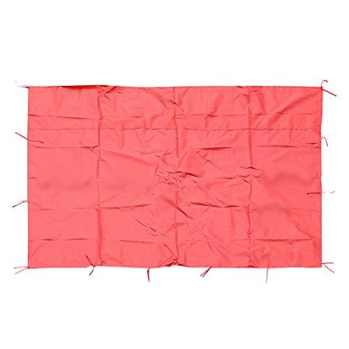 T TOOYFUL Zelt Seitenteil Wasserdicht Seitenwand - Rot A 200x300cm