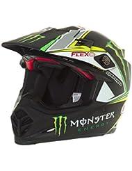 Casco Mx Bell Pro Circuit Monster Energy 2016 Moto-9 Negro (L , Negro)