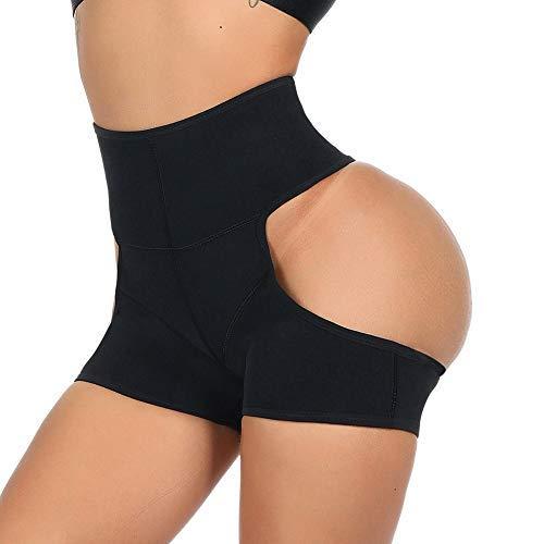 128e448eb2b FeelinGirl Mujer Lencería Ropa Interior Braguitas Moldeadoras Pantalón Hip- Lift Negro 3XL