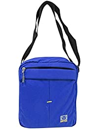 Dafter Travel Sling Bag - Blue Water Resistance Polyester Bag With Multiple Pockets And Padded Section For IPad...