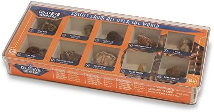 Geoworld Dr. Steve Hunters 10 Fossils From All Over The World Science Kit | 2019