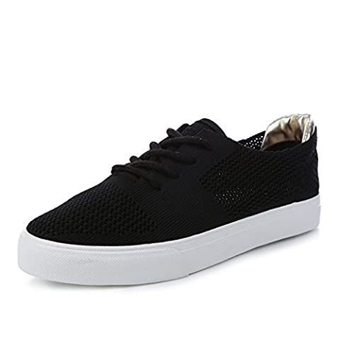 Women Summer Breathable Flat Sports Shoes Mesh Casual Skateboard Shoes