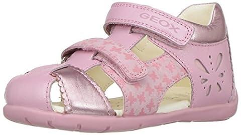 Geox Baby Mädchen B Kaytan C Sandalen, Pink (Lt Pinkc8010), 22 EU