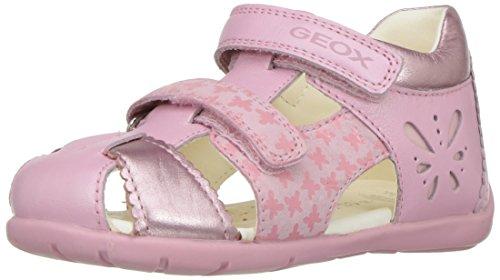 Geox Baby Mädchen B Kaytan C Lauflernschuhe, Pink (Lt Pinkc8010), 25 EU