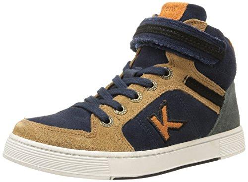 Kickers  Plusk,  Sneaker ragazzo Blu Blu (Marine) 32