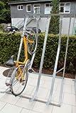 Schräghochparker - freie Aufstellung, 5 Einstellplätze - Ständer für Fahrräder Ständer für Fahrräder Ständer für Fahrräder Fahrradparker Fahrradständer Fahrradhalter Ständer Fahrradparker Fahrradständer Fahrradhalter Ständer Fahrradparker Fahrradständer
