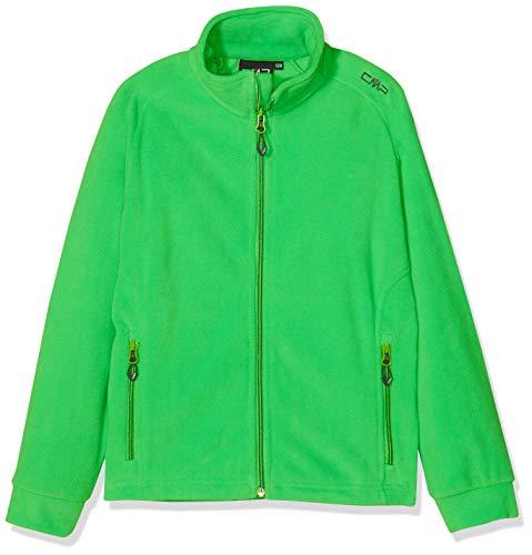 CMP Jungen Fleece Jacke, Green, 128 Kapuzen-fleece-shirt