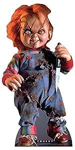 Star Cutouts SC1316 Juego de niños de Chucky Scarred, perfecto para Halloween, amigos y fans, multicolor