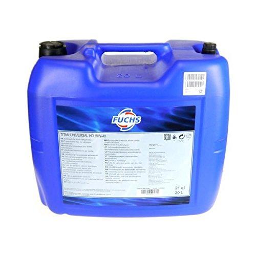 20 Liter Motoröl Fuchs Titan Universal HD 15W-40 20 L Kani