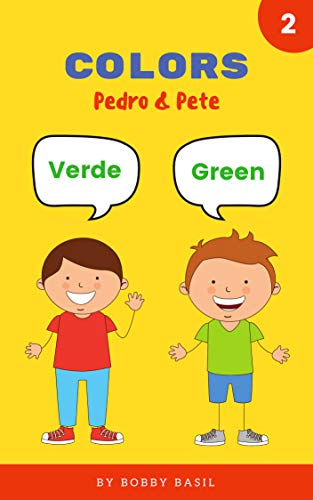 Colors: Learn Colors in English and Spanish Book for Kids ...