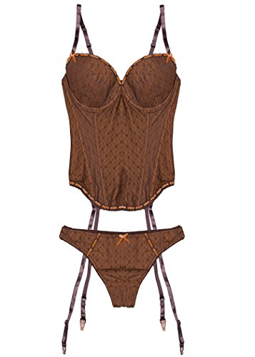 Kendindza Collection -  Completo intimo  - Donna Marrone