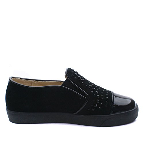 CILINDA Step2wo Slipon Shoe Diamonte for Girls >      > chaussure avec strass pour les filles Black (noir)