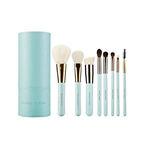it Halter Case Professional 8 Stück MakeUp Brushes (Make-up-bürsten Rosshaar)