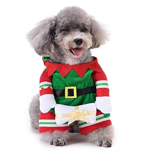 Kostüm Können Pokemon - WINNER POP Halloween-Haustier-Elfen-Kostüm mit dem Hut, weich und bequem, verwendbar für Hunde und Katzen-Weihnachtsgeburtstags-Feiertags-Party-Rollenspiel