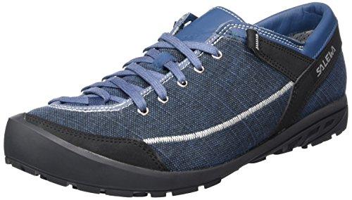 Salewa Ms Alpine Road, Zapatillas de Montaña Hombre, Azul/Blanco (Washed...