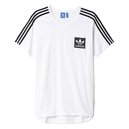 adidas Herren T-shirt Street Essentials White