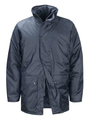 Black Knight Weather Beater JKWB Jacke, klein, gesteppt, versteckte Kapuze, Navy (Herren-beater)