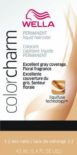 Wella Couleur Charm liquide Couleur de cheveux permanente – # 8nw Blond clair naturel chaud 40 ml (lot de 2)