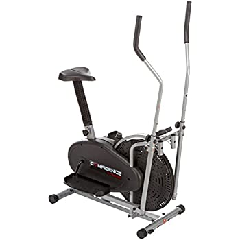 Confidence 2 In 1 Elliptical Cross Trainer Bike