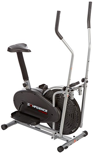 Confidence 2 in 1 Ellipsen-Cross-Trainer & Heimfahrrad
