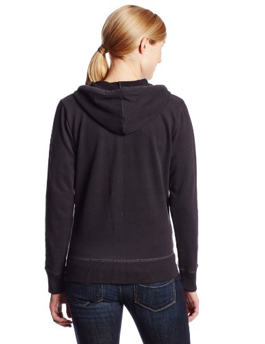 Life is Good Damen Love Lig Hoodie Night Black