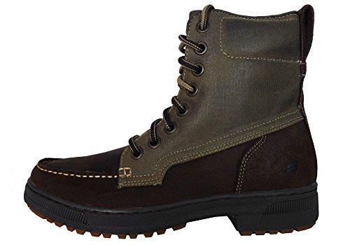 Skechers, Stivali uomo Marrone (Brown / Olive)