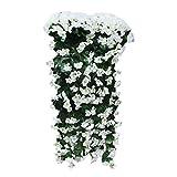 Fleurs Artificielles Décoration de la Maison artificial Wisteria Fleur en soie pour mariage Décorations Home Garden Party Decor Fleur de simulation...