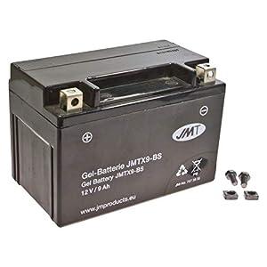 YTX9-BS Gel Batterie für GSX 750 F Baujahr 1998-2006 von JMT