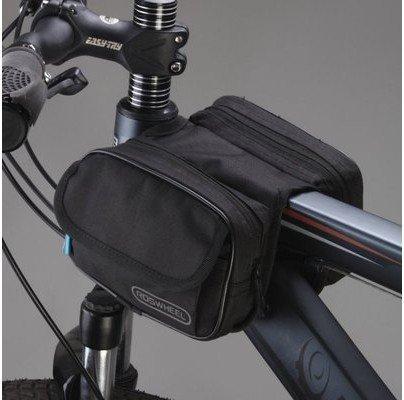 FAN4ZAME Fahrrad Mountainbike Rohr Tasche Tasche Satteltasche Vorderachse Fahrradverleih Ausstattung Ausstattung D