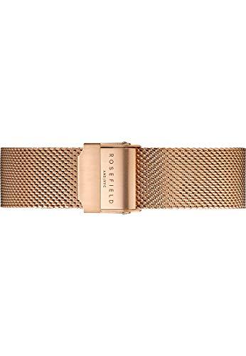 Rosefield Damen Edelstahl Uhrenarmband TMRSS125