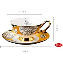 DZXYA Continental Cup frosted tazza di caffè impostata - Regalo Cuore Frosted