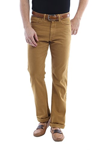 Allen Solly Men Regular Fit Pants_aldn515j05739_30_brown