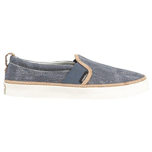 ONEILL Snapper Slipon canvas Herren Sneakers Marineblau