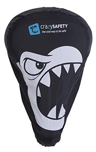 Sattelschutz Cover Regenschutz- Kind 3-7 - Crazy Safety, schwarz