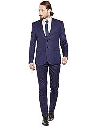 Routeen Slim Fit 3 Piece Suit for Men
