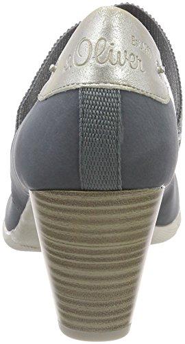 s.Oliver 24407, Scarpe con Tacco Donna Blu (Denim Comb)