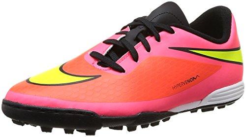 Nike Boys Hyper Venom Phade TF Boots-Pink/White, Size 3