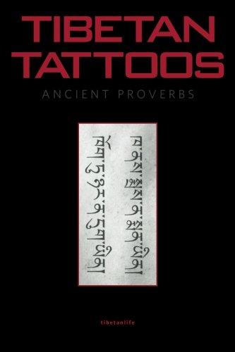Tibetan Tattoos Ancient Proverbs por TibeTanlife